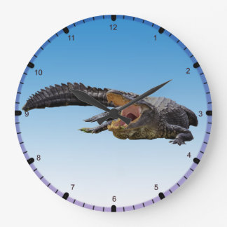 Alligator Large Clock