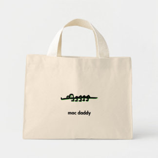 Alligator mac daddy mini tote bag