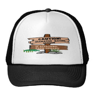 Alligator Mating Season Hat