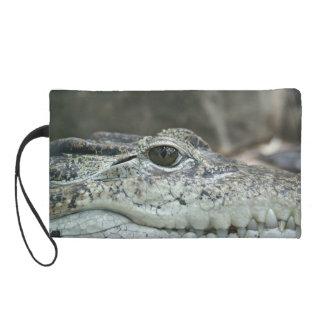 Alligator Photo Wristlet