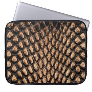 Alligator Skin Print Laptop Sleeve