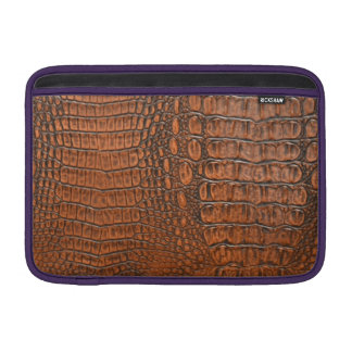 ALLIGATOR SKIN SLEEVE FOR MacBook AIR