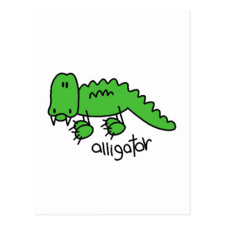 Alligator Tshirts and Gifts Postcard