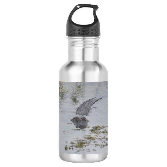 Alligator Water Bottle
