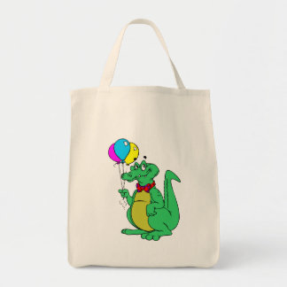 Alligator With Balloons Bag