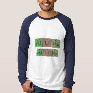 Alline as Aluminium Lithium Neon T-shirt