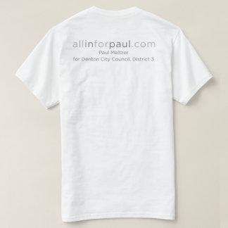 allinforpaul.com Texas logo T-Shirt