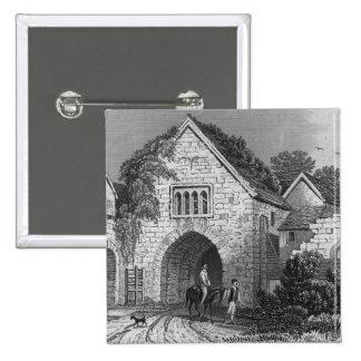 Allington Castle 15 Cm Square Badge