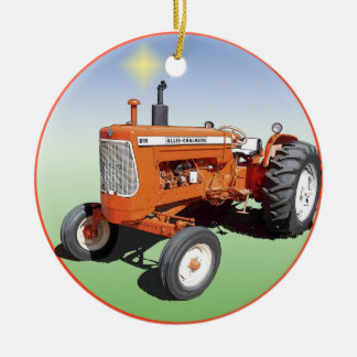 Allis-Chalmers D19 Round Ceramic Decoration