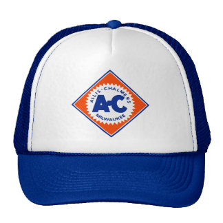 Allis Chalmers Tractor Vintage Hiking Duck Mesh Hats