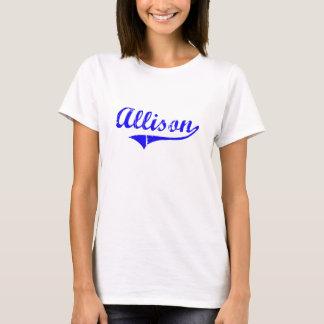 Allison Surname Classic Style T-Shirt
