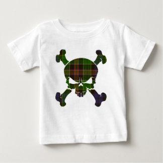 Allison Tartan Skull No Banner Baby T-Shirt