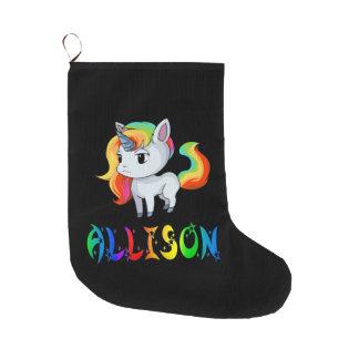 Allison Unicorn Christmas Stocking