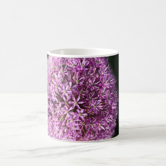 Allium Flower Head Mug