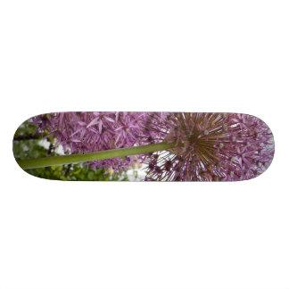 Allium Flower Custom Skateboard