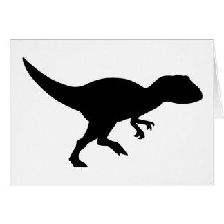 Allosaurus Dinosaur Card