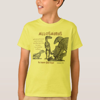 Allosaurus My Inner Dinosaur Kids Shirt Greg Paul