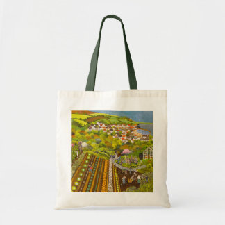 Allotment above Mousehole Tote Bag