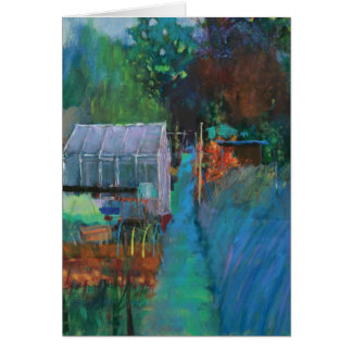 Allotment Greeting Card