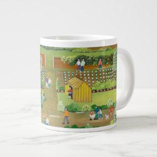 Allotments Large Coffee Mug