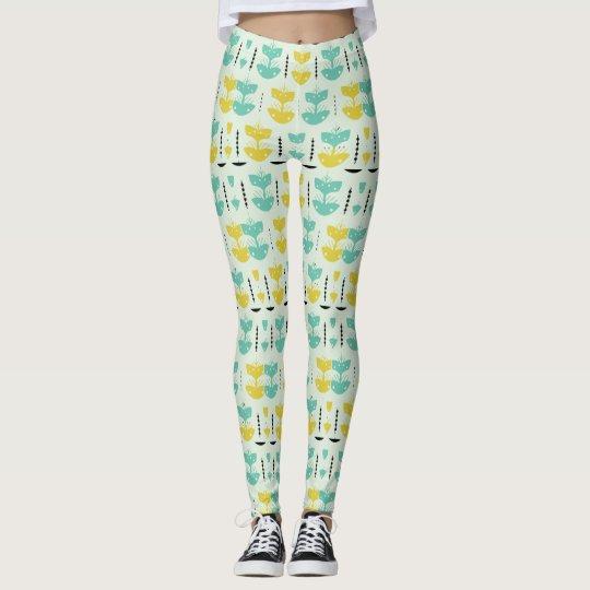 allover print on leggings. leggings