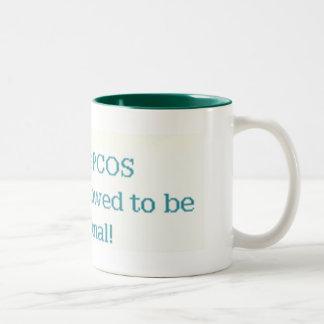 allowed to be hormonal mug