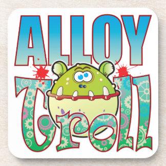 Alloy Troll Drink Coaster