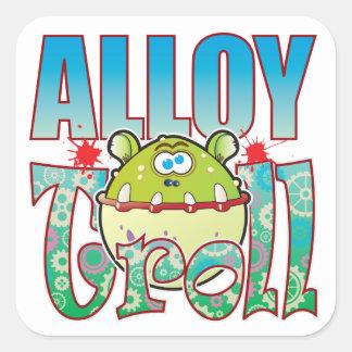 Alloy Troll Square Sticker
