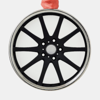 """Alloy Wheel"" gifts and products Christmas Ornament"