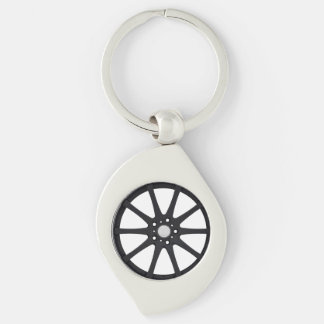 """""""Alloy Wheel"""" gifts and products Keychains"""