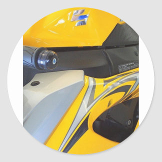 AllPowerSports.net Mouse Pad Round Stickers