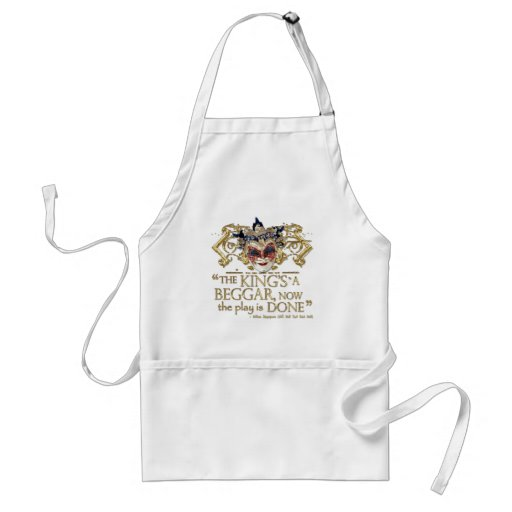 All's Well That Ends Well Quote (Gold Version) Aprons