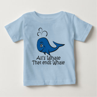 All's Whale that Ends Whale - Funny t-shirt