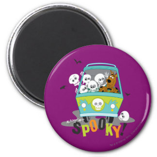 Alltogether Spooky 6 Cm Round Magnet