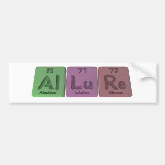 Allure-Al-Lu-Re-Aluminium-Lutetium-Rhenium Bumper Stickers