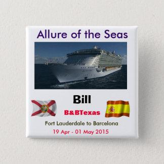 Allure TA 15 Cm Square Badge