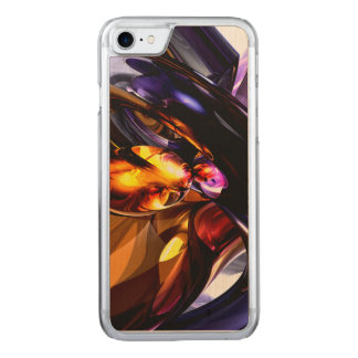 Alluring Grace Abstract Carved iPhone 7 Case