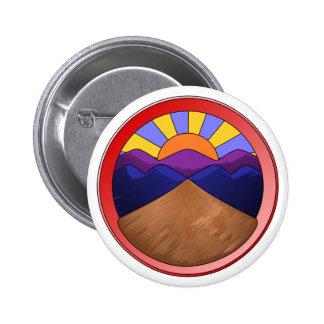 Alluvial Fan Logo 6 Cm Round Badge