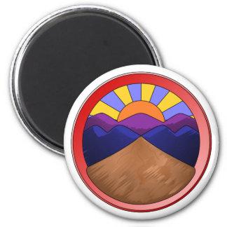 Alluvial Fan Logo Refrigerator Magnets