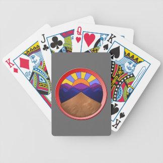 Alluvial Fan Logo Poker Cards