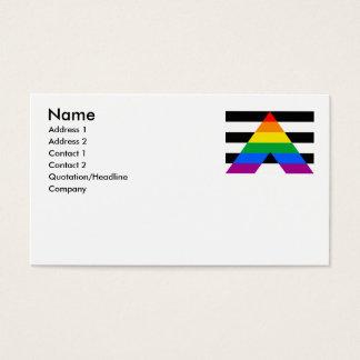 ALLY FLAG ORIGINAL BUSINESS CARD