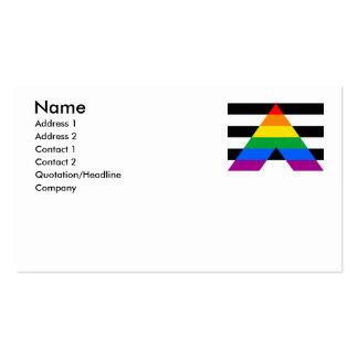 ALLY FLAG ORIGINAL PACK OF STANDARD BUSINESS CARDS