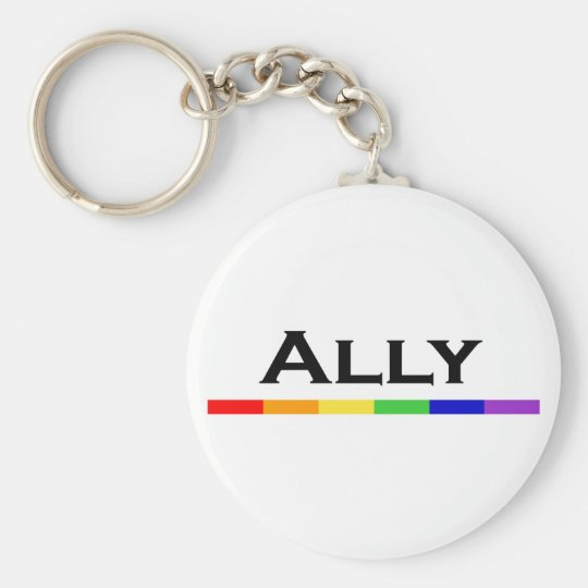 Ally Pride Key chain