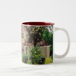 Alma House Painting Two-Tone Coffee Mug