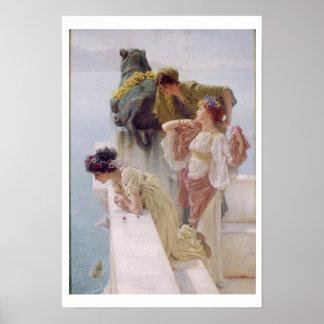 Alma-Tadema | A Coign of Vantage, 1895 Poster