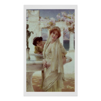 Alma-Tadema | A Difference of Opinion Poster