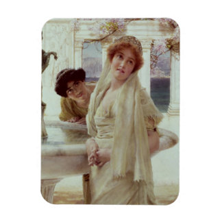 Alma-Tadema | A Difference of Opinion Rectangular Photo Magnet