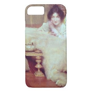 Alma-Tadema | A Listener: The Bear Rug, 1899 iPhone 8/7 Case