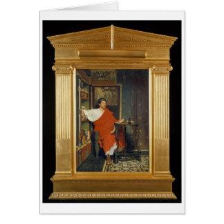 Alma-Tadema | A Roman Scribe Writing Dispatches Greeting Card