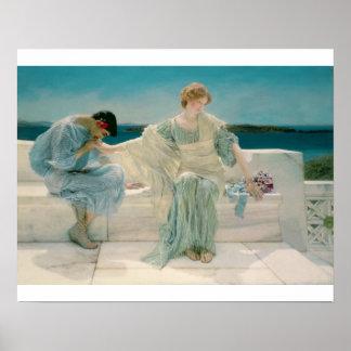 Alma-Tadema | Ask me no more, 1906 Poster